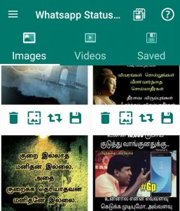 whatsapp status saved do something new